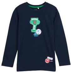 T-shirt z długim rękawem dla chłopca 9-12 lat C62G642_1