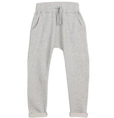 Spodnie dresowe z obniżonym krokiem dla chłopca 3-8 lat C62K017_1