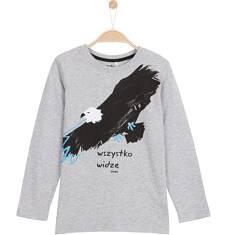 T-shirt z długim rękawem dla chłopca 3-8 lat C62G123_1