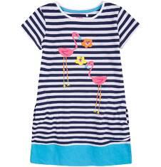 Sukienka trapezowa dla dziewczynki 9-13 lat D71H548_1