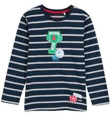 T-shirt z długim rękawem dla chłopca 3-8 lat C62G143_1