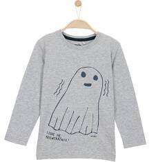 T-shirt z długim rękawem dla chłopca 9-12 lat C62G587_1