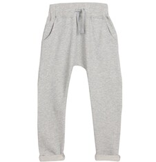 Spodnie dresowe z obniżonym krokiem dla chłopca 9-12 lat C62K517_1