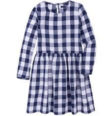 Romantyczna sukienka w kratkę dla dziewczynki 3-8 lat D72H056_1