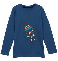 T-shirt z długim rękawem dla chłopca 9-12 lat C62G608_1