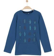 T-shirt z długim rękawem dla chłopca 9-12 lat C62G610_1