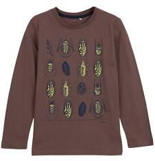 T-shirt z długim rękawem dla chłopca 9-12 lat C62G610_2