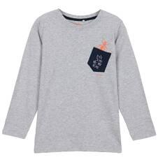 T-shirt z długim rękawem dla chłopca 9-12 lat C62G611_2