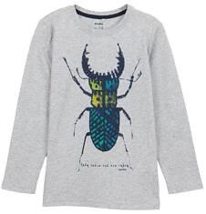 T-shirt z długim rękawem dla chłopca 9-12 lat C62G612_1