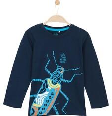 T-shirt z długim rękawem dla chłopca 3-8 lat C62G113_1