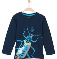 T-shirt z długim rękawem dla chłopca 9-12 lat C62G613_1