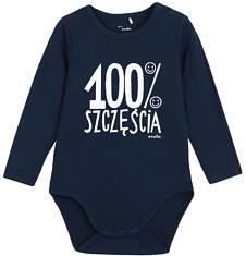 Body z długim rękawem dla niemowlaka N62M011_1