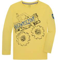 T-shirt z długim rękawem dla chłopca 3-8 lat C72G018_2
