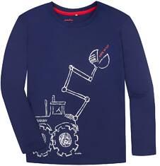 T-shirt z długim rękawem dla chłopca 3-8 lat C72G034_1