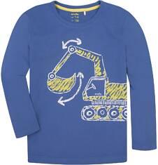 T-shirt z długim rękawem dla chłopca 3-8 lat C72G035_1