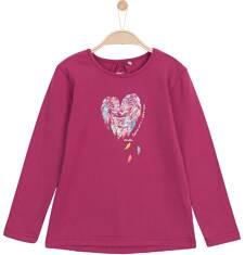 Bluzka z długim rękawem dla dziewczynki 3-8 lat D62G031_1