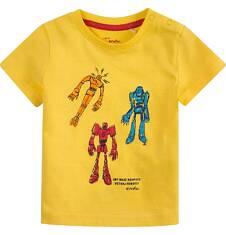 Bluzka z krótkim rękawem  dla dziecka 0-3 lat N71G100_1