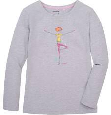 Bluzka z długim rękawem  dla dziewczynki 3-8 lat D72G090_2