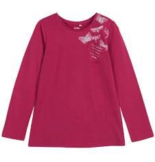 Bluzka z długim rękawem dla dziewczynki 9-12 lat D62G568_3