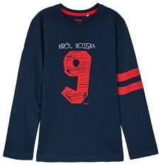 T-shirt z długim rękawem dla chłopca 9-12 lat C62G518_3
