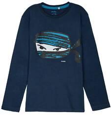 T-shirt z długim rękawem dla chłopca 3-8 lat C62G033_2