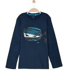 T-shirt z długim rękawem dla chłopca 9-12 lat C62G533_2