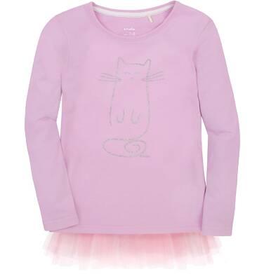 Tunika z tiulową falbanką dla dziewczynki 3-8 lat D72G031_1