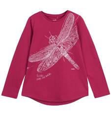 Bluzka z długim rękawem dla dziewczynki 9-12 lat D62G571_1
