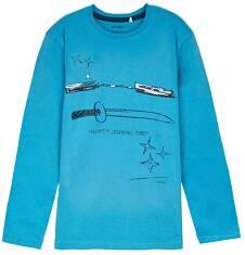 T-shirt z długim rękawem dla chłopca 9-12 lat C62G538_2