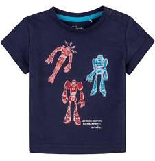 Bluzka z krótkim rękawem  dla dziecka 0-3 lat N71G100_2