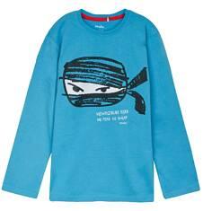 T-shirt z długim rękawem dla chłopca 9-12 lat C62G539_2