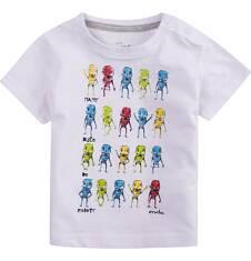 Bluzka z krótkim rękawem  dla dziecka 0-3 lat N71G101_1
