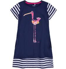 Sukienka trapezowa dla dziewczynki 9-13 lat D71H573_1