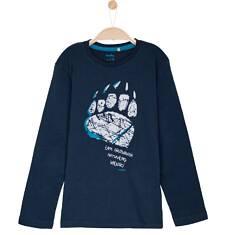 T-shirt z długim rękawem dla chłopca 9-12 lat C62G600_3