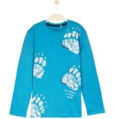 T-shirt z długim rękawem dla chłopca 9-12 lat C62G605_2