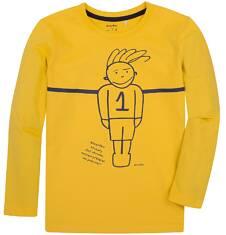 T-shirt z długim rękawem dla chłopca 9-13 lat C72G501_1