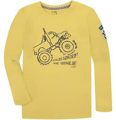 T-shirt z długim rękawem dla chłopca 9-13 lat C72G520_1