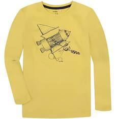 T-shirt z długim rękawem dla chłopca 9-13 lat C72G569_1