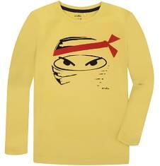 T-shirt z długim rękawem dla chłopca 9-13 lat C72G591_1