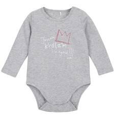 Body z długim rękawem dla niemowlaka N62M030_1