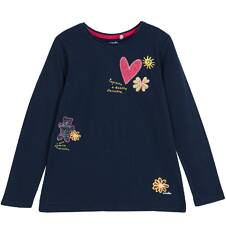 Bluzka z długim rękawem dla dziewczynki 9-12 lat D62G643_1