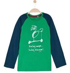 T-shirt z długim rękawem dla chłopca 3-8 lat C62G136_2