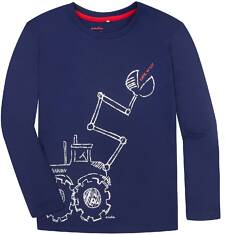 T-shirt z długim rękawem dla chłopca 9-13 lat C72G534_1