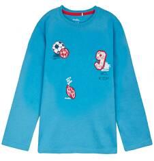 T-shirt z długim rękawem dla chłopca 9-12 lat C62G641_2