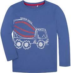 T-shirt z długim rękawem dla chłopca 9-13 lat C72G537_1