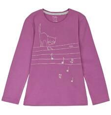 Bluzka z długim rękawem dla dziewczynki 9-12 lat D62G501_2