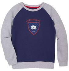 Bluza reglanowa przez głowę dla chłopca 9-13 lat C72C504_1