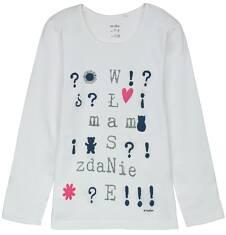 Bluzka z długim rękawem dla dziewczynki 9-12 lat D62G589_2