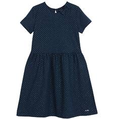 Sukienka z krótkim rękawem dla dziewczynki 9-12 lat D62H551_1