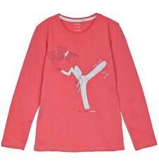Bluzka z długim rękawem dla dziewczynki 9-12 lat D62G632_2